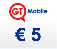 GT mobile 5 euro