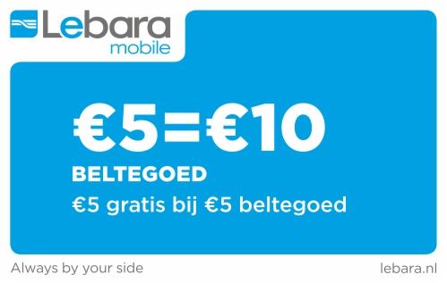 Lebara 5 euro