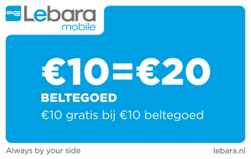 Lebara 10 euro