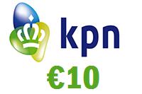 KPN 10 euro