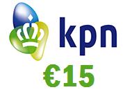 KPN 15 euro