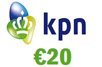 KPN 20 euro