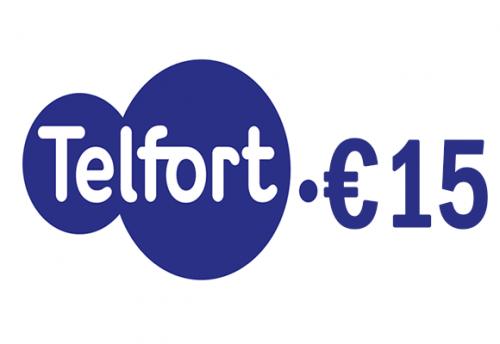 Telfort 15 euro