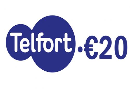 Telfort 20 euro