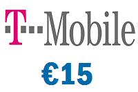 T-Mobile 15 euro