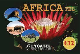 Africa Tel 12 euro